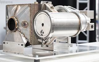 安装有HiETA MiTRE同流换热器的DeltaMotorsport微型涡轮