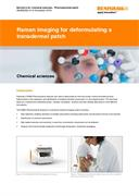 Application note:  Raman imaging for deformulating a transdermal patch